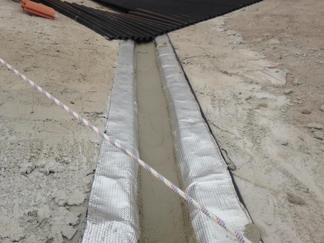 Refuerzos e impermeabilización de limahoyas y limatesas